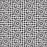 Spot twirl background Royalty Free Stock Image