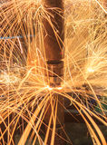Spot welding Stock Images