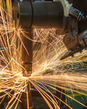 Spot welding Stock Photo