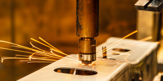 Spot welding Stock Photos