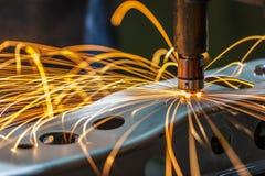 Spot welding machine Stock Photos