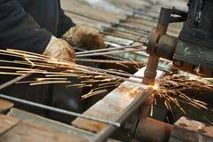 Spot welding Stock Images