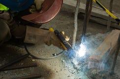 Spot welding Stock Image