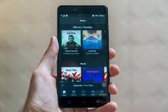 Spotify Стоковое Фото