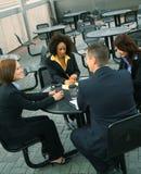 spotkań biznesowi ludzie Zdjęcia Royalty Free