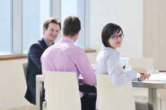 spotkań biznesowi ludzie Obrazy Stock