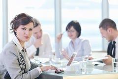 spotkań biznesowi ludzie Zdjęcia Stock