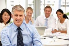 spotkania biura rekrutacja Obraz Stock