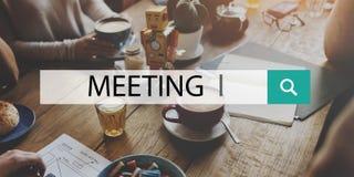 Spotkania Brainstorming dyskusi szczytu Konferencyjny pojęcie Zdjęcia Stock