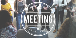 Spotkania Brainstorming dyskusi szczytu Konferencyjny pojęcie Zdjęcie Royalty Free
