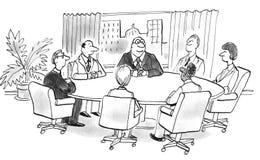 spotkanie ilustracja wektor