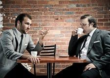 Spotkanie biznesowa dyskusja obraz royalty free