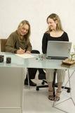 spotkanie biznesowe kobiety obrazy stock