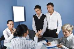spotkanie biznesowy środek Fotografia Stock