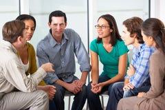Spotkanie grupa pomocy Zdjęcia Royalty Free