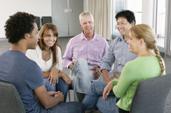 Spotkanie grupa pomocy Fotografia Stock