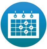 Spotkanie, kalendarz, wydarzenie Odizolowywająca Wektorowa ikona może być łatwo redaguje i modyfikuje ilustracja wektor