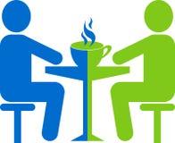 spotkanie kawowy sklep Zdjęcie Stock