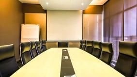 Spotkanie lub sala konferencyjna fotografia stock