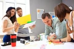 Spotkanie pracownicy i planistyczni kolejni kroki Zdjęcia Stock