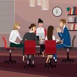 spotkanie w interesach ludzi Obraz Stock