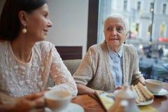 Spotkanie w kawiarni fotografia royalty free