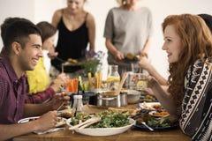 Spotkanie weganinów ludzie fotografia royalty free