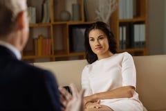Spotkanie z terapeuta Fotografia Royalty Free