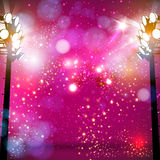 Spotlight art background Stock Photo