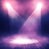 Spotlight  background Stock Photos