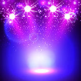 Spotlight background design Royalty Free Stock Photo
