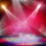 Spotlight  background Stock Photography