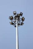 Spotlight on blue sky. Stock Photography