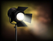 Spotlight Blurry Misty Dark Background Poster Royalty Free Stock Photos