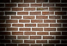 Spotlight on brick wall Stock Photos