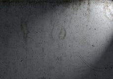 Spotlight on concrete wall Royalty Free Stock Photo