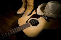 Country Music Spotlight Stock Photo