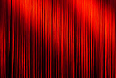 Spotlight on curtain Royalty Free Stock Images