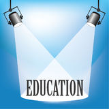 Spotlight Education Royalty Free Stock Photography