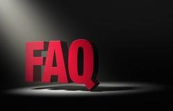 Spotlight On FAQ Stock Photography