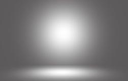 Spotlight gray light Stock Photography