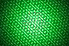 Spotlight on green carbon fiber Stock Images