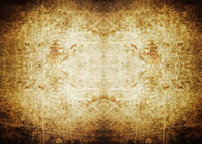 Spotlight grunge background with scratches stock photography
