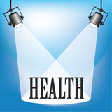 Spotlight Health Royalty Free Stock Photo