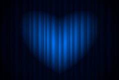Spotlight heart Stock Photos