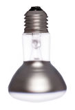 Spotlight lightbulb cutout Royalty Free Stock Image