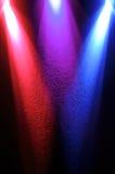 Spotlight lighting beam Stock Image