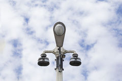 Spotlight pole Royalty Free Stock Photography