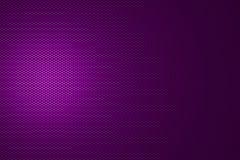 Spotlight on purple metallic mesh Stock Photography