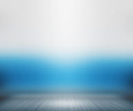 Spotlight Room Blue Background Royalty Free Stock Image